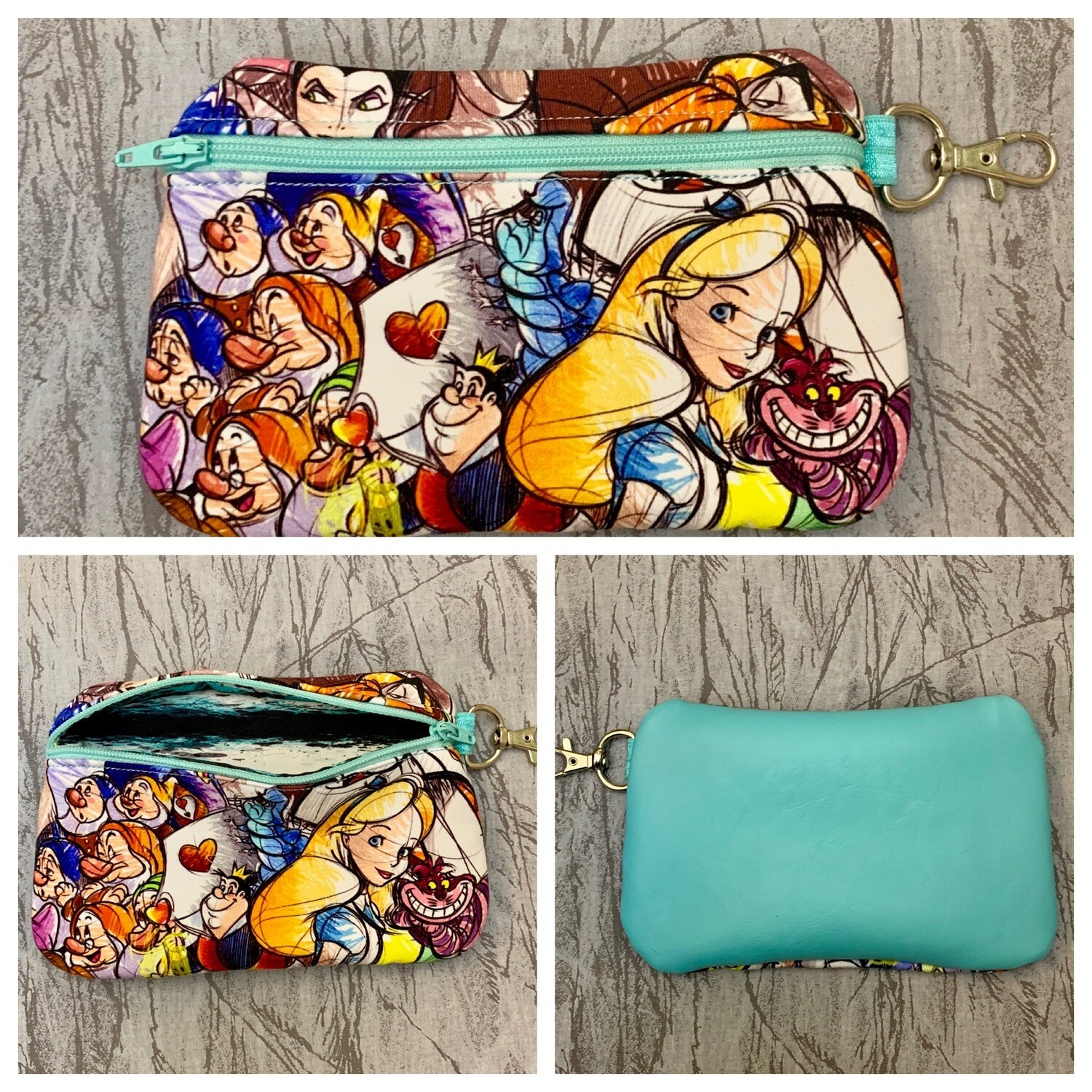 Sew Sketchy Zipper Clutch - RTS