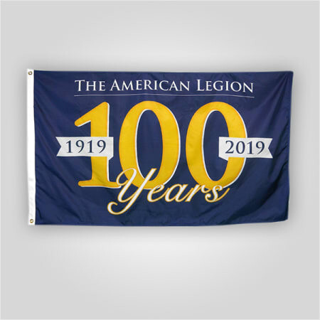 Centennial Outdoor Flag