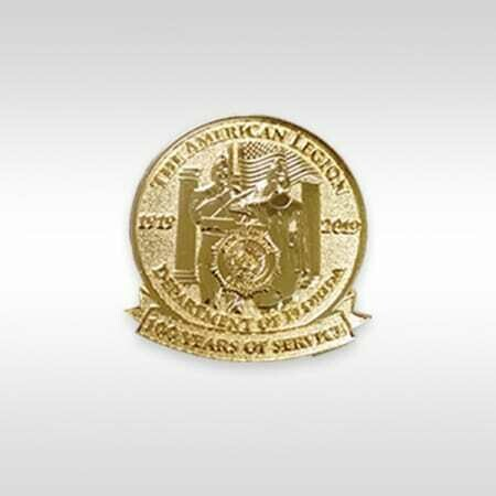 Centennial Pin