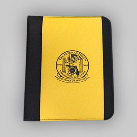 Dept of Florida 100 Year Padfolio