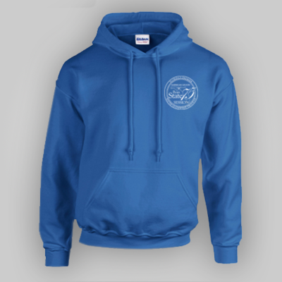 75th Boys State Blue Hoodie