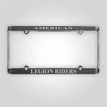 Legion Riders License Plate Frame