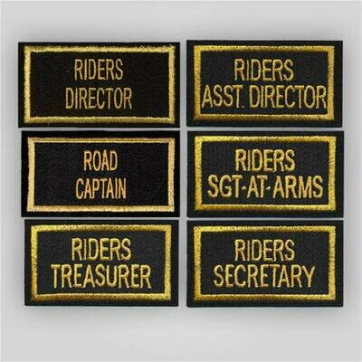 Legion Riders Officer Patch