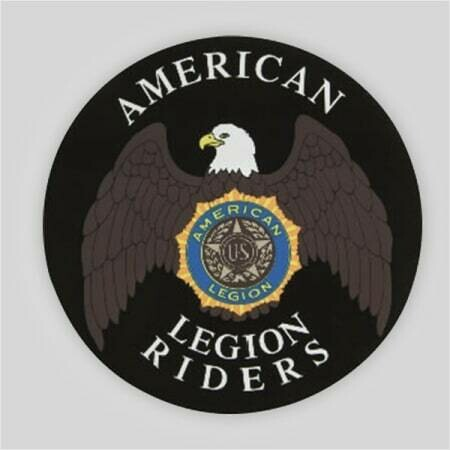 Legion Riders Removable Decal - 12""