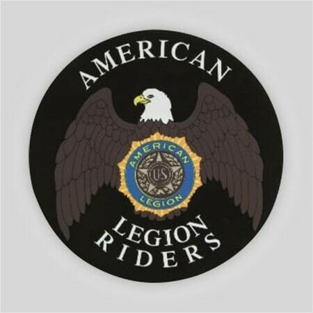 """Legion Riders Removable Decal - 6"""""""