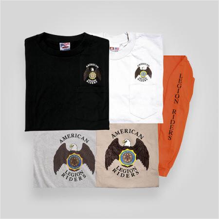 Legion Riders Front-Back Emblem Long Sleeve TShirt