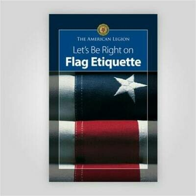 Lets Be Right on Flag Etiquette