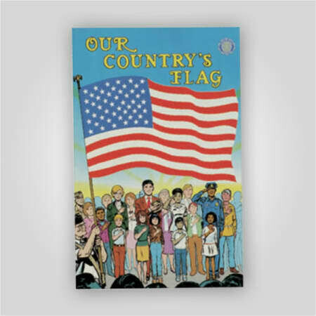 Our Country's Flag Comic Book
