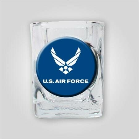 Air Force 2oz Emblem Shot Glass