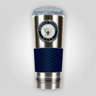 Navy 24 oz Stainless Cup