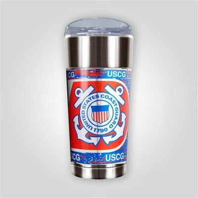 Coast Guard 24 oz Stainless Cup