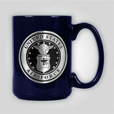 Air Force Emblem 15 oz Ceramic Mug