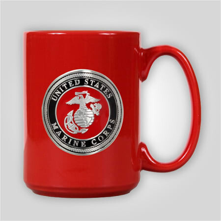 Marines Emblem 15 oz Ceramic Mug