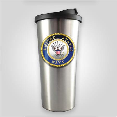 Navy Stainless Travel Mug