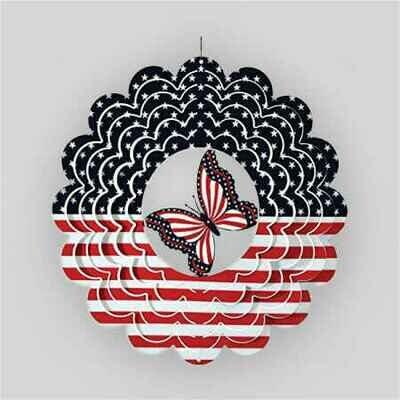 Patriotic Butterfly Spinner