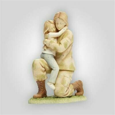Servicewoman Returning Home Figurine