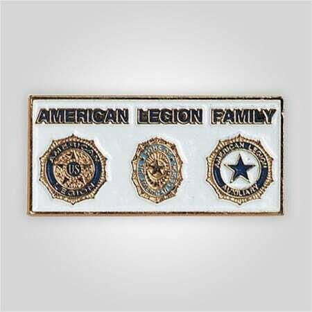 3 Emblem American Legion Family Tack
