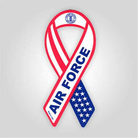Air Force Ribbon Magnet