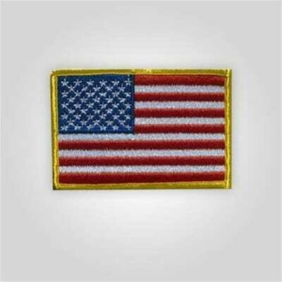 Embroidered Flags Shoulder Patch - Left