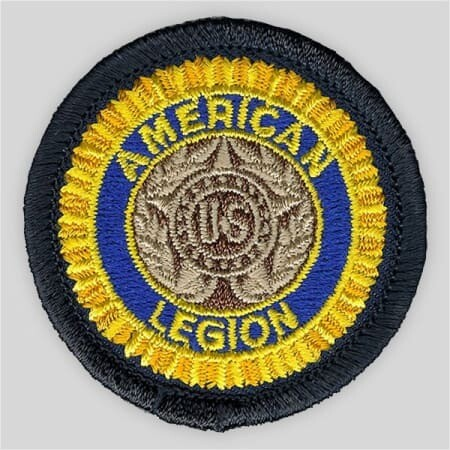 """Embroidered Legion Patch - 1 1/2"""""""