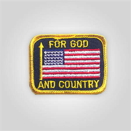 For God and Country Patch