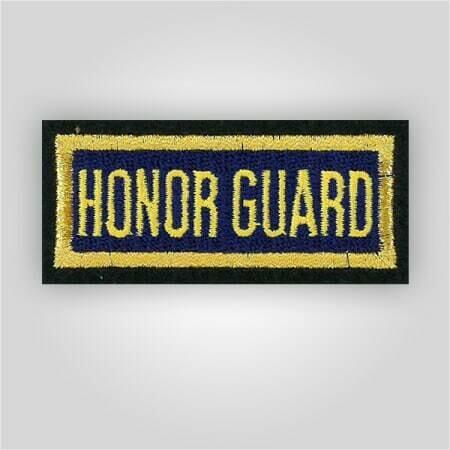 Honor Guard Insignia Patch