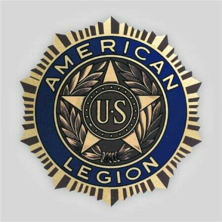 "Legion Emblem Polyester Decal - 12"""