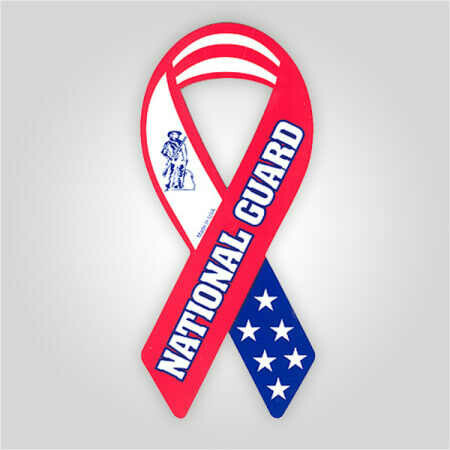 National Guard Ribbon Magnet