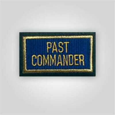 Past Officers Patch - Post Level