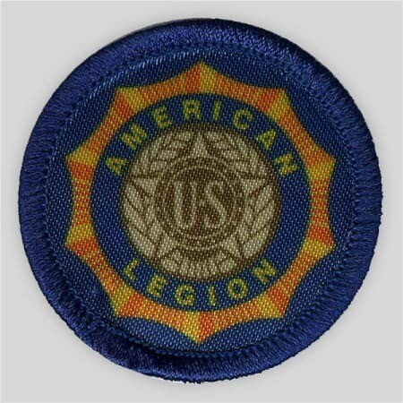 Printed American Legion Emblem Patch