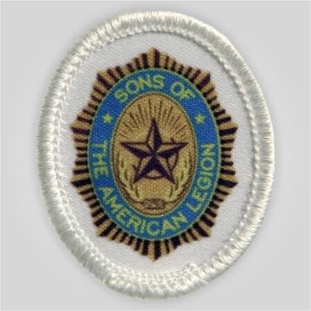 SAL Emblem Printed Patch - White