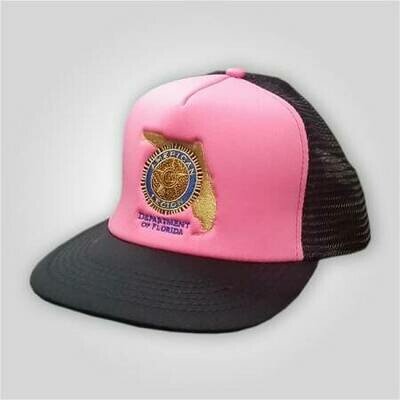 Florida Legion Hot Pink Trucker Cap