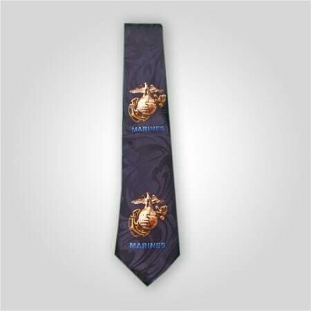 Marines Insignia Neck Tie
