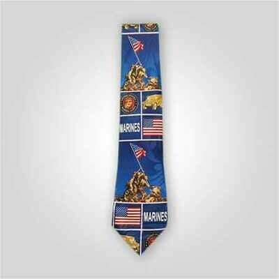 Marines Iwo Jima Neck Tie
