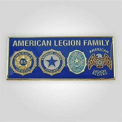 4 Emblem American Legion Family Tack