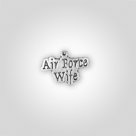 Air Force Wife Charm
