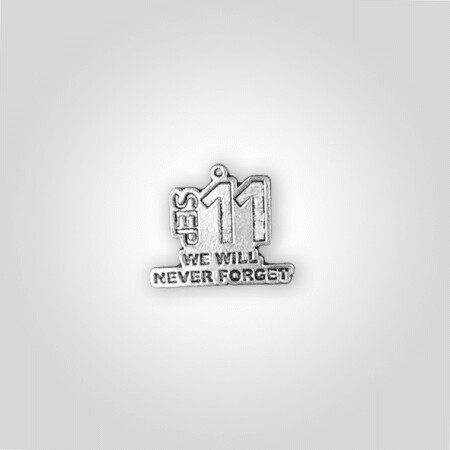 """""""Sept 11 We Will Never Forget"""" Charm"""