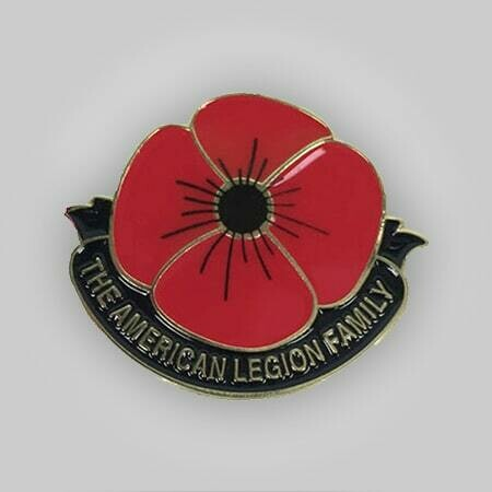 The American Legion Family Poppy Pin