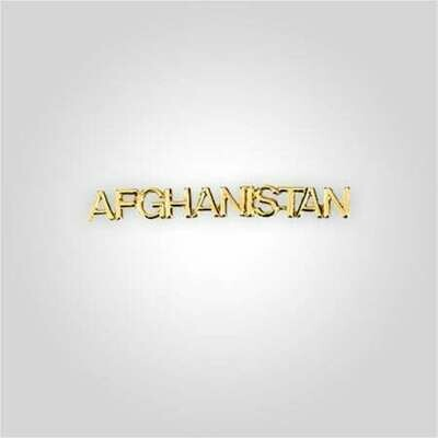 Cap Bar Pin - Afghanistan