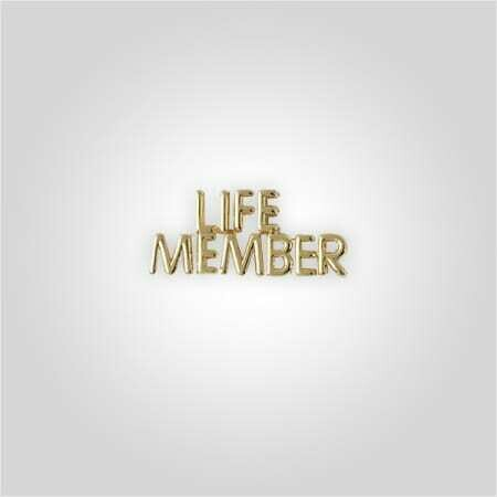 Cap Bar Pin - Life Member