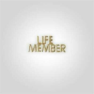 Cap Bar Pin - Life Member