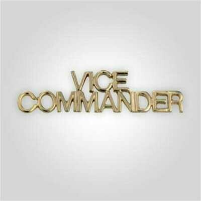 Cap Bar Pin - Vice Commander