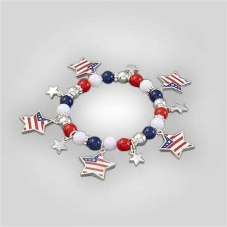 Patriotic Stretch Bracelet