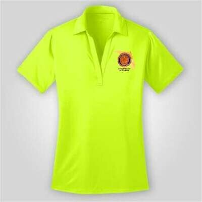Neon Yellow Polo Ladies