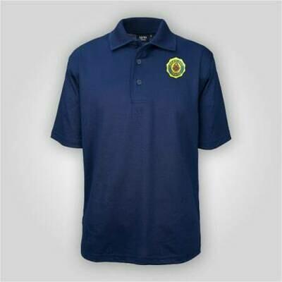 Legion Emblem Navy Polo AKWA