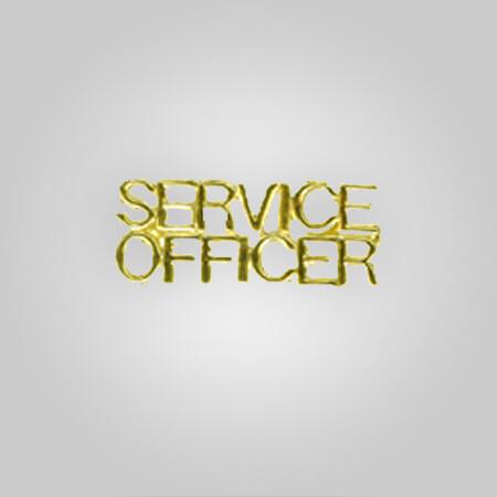 Cap Bar Pin - Service Officer