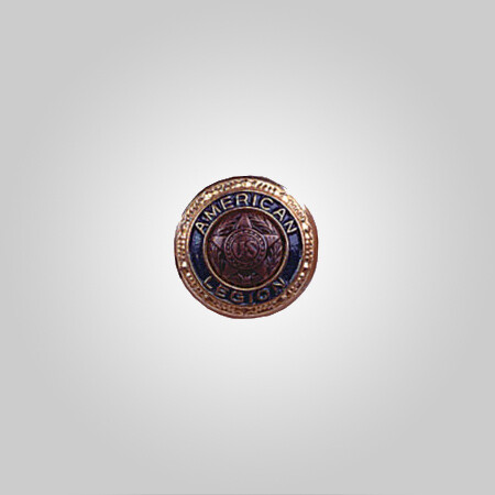 Emblem Uniform Sleeve Button