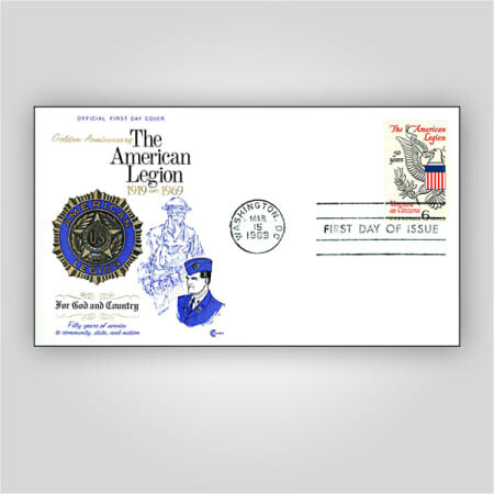 First Day Cover - 50th Anniversary Stamp (1969)