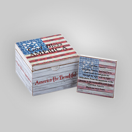 God Bless America Prayer Box