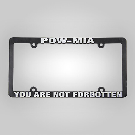 POW-MIA License Plate Frame